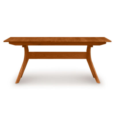 "CP-6-AUD-23-04: Customized Item of Audrey 84"" Extension Trestle Table by Copeland Furniture (CP-6-AUD-23)"